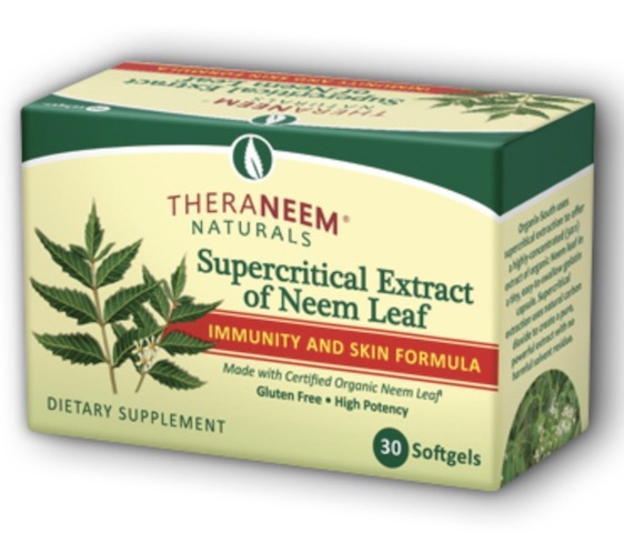 Image of TheraNeem Supercritical Extract of Neem Leaf Softgel