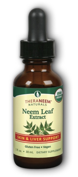 Image of TheraNeem Neem Leaf Extract 100 mg Liquid (Alcohol)