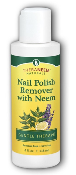 Image of TheraNeem Nail Polish Remover with Neem