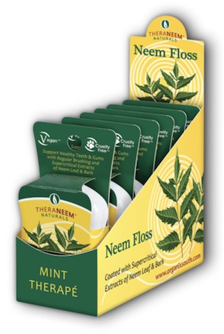 Image of TheraNeem Neem Floss (Dental Floss) Mint