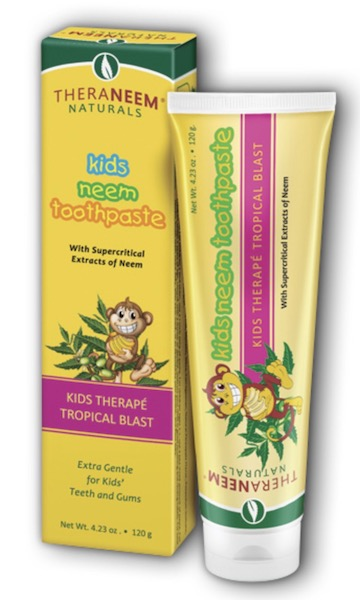 Image of TheraNeem Kid's Toothpaste Neem Tropical Blast