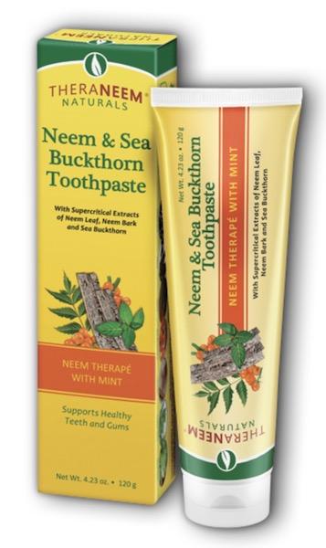 Image of TheraNeem Toothpaste Neem & Sea Buckthorn