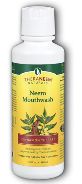 Image of TheraNeem Mouthwash Neem Cinnamon