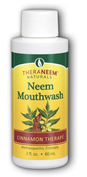 Image of TheraNeem Mouthwash Neem Cinnamon