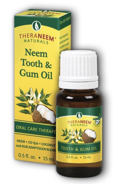 Image of TheraNeem Tooth & Gum Oil Neem