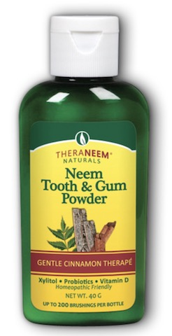 Image of TheraNeem Tooth & Gum Powder Neem Cinnamon