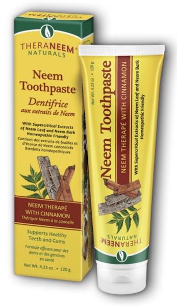 Image of TheraNeem Toothpaste Neem Cinnamon