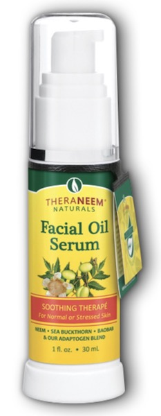 Image of TheraNeem Facial Oil Serum (Soothing Therape - Normal Skin)