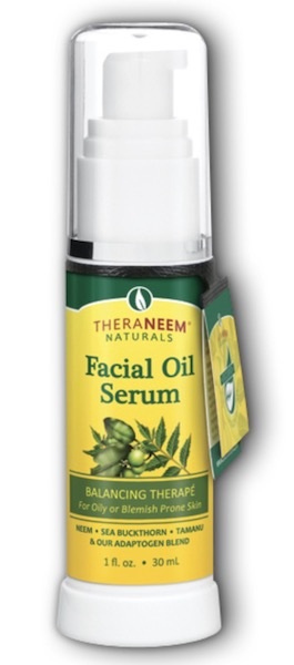 Image of TheraNeem Facial Oil Serum (Balancing Therape - Oily Skin)