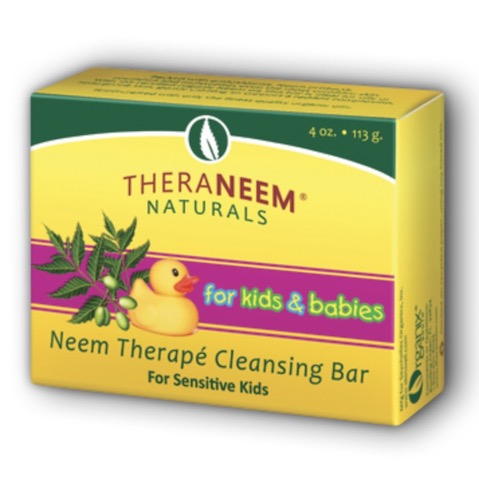 Image of TheraNeem Kid's & Babies Cleansing Bar