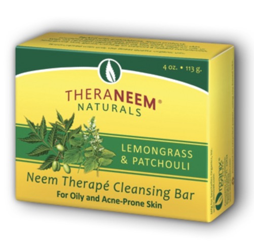 Image of TheraNeem Cleansing Bar Lemongrass & Patchouli