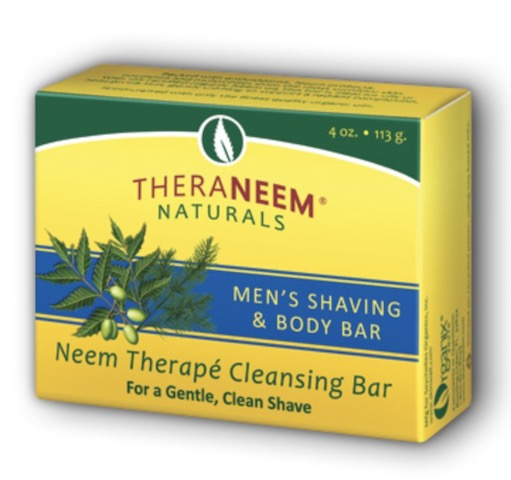 Image of TheraNeem Cleansing Bar Men's Shaving & Body Bar