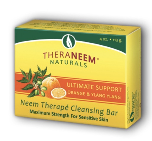 Image of TheraNeem Cleansing Bar Ultimate Support (Orange & Ylang )