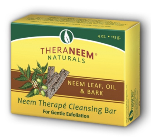 Image of TheraNeem Cleansing Bar Neem Lea, f Oil & Bark