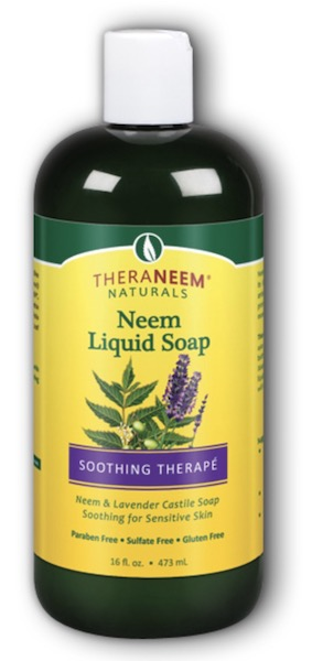 Image of TheraNeem Liquid Soap Neem (Soothing Therape) Lavender