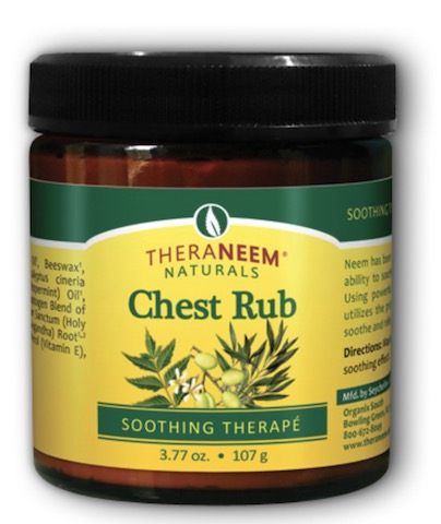 Image of TheraNeem Chest Rub (Soothing Therape) Eucalyptus