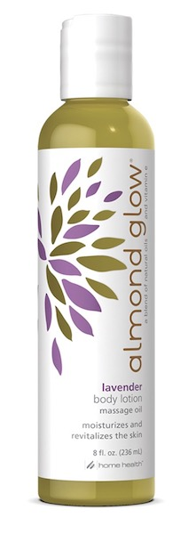 Image of Almond Glow Body Lotion Massage Oil Lavender