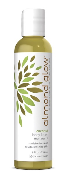 Image of Almond Glow Body Lotion Massage Oil Coconut