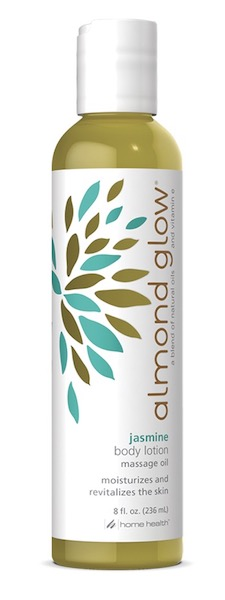 Image of Almond Glow Body Lotion Massage Oil Jasmine