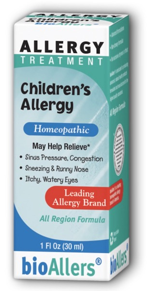 Image of bioAllers Allergy Treatment Children's Allergy Liquid