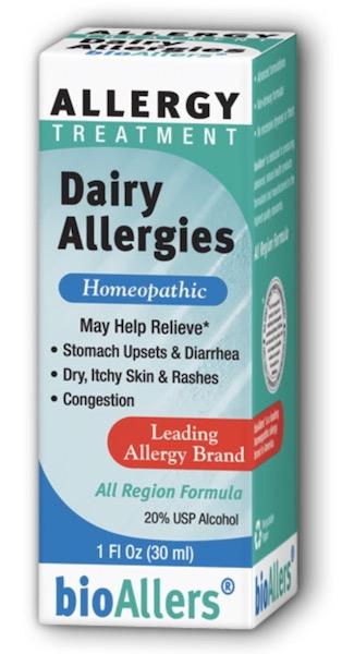 Image of bioAllers Allergy Treatment Dairy Allergies Liquid