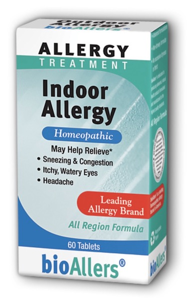 Image of bioAllers Allergy Treatment Indoor Allergy Tablet