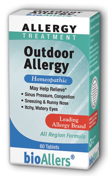 Image of bioAllers Allergy Treatment Outdoor Allergy Tablet