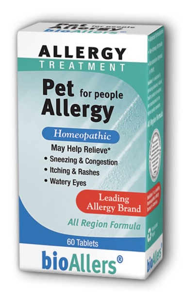 Image of bioAllers Allergy Treatment Pet Allergy for People Tablet