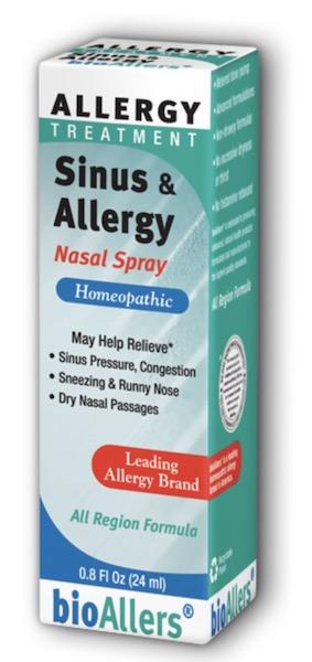 Image of bioAllers Allergy Treatment Sinus & Allergy Nasal Spray