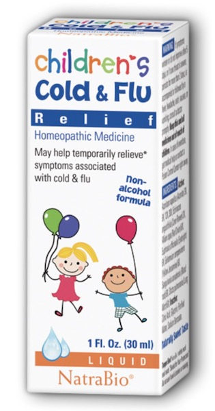 Image of Children's Cold & Flu Relief Liquid
