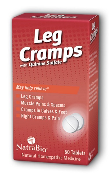 Image of Leg Cramps with Quinine Sulfate Tablet