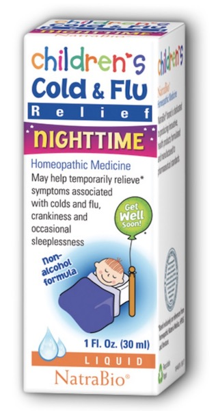 Image of Children's Cold & Flu Relief Nighttime Liquid