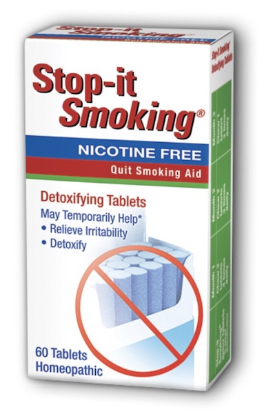 Image of Stop-it Smoking Detoxifying Tablet