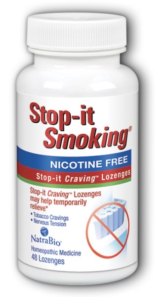 Image of Stop-it Smoking Anti-Craving Lozenge Berry
