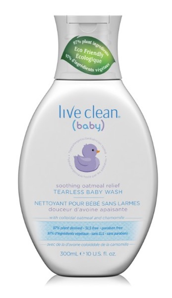 Image of Baby Wash Tearless Soothing Oatmeal Relief