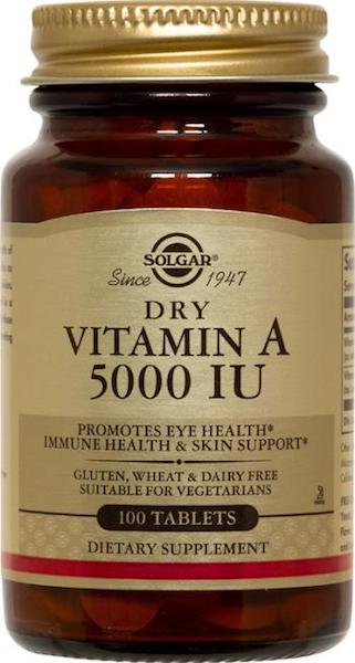 Image of Vitamin A 5,000 IU Dry