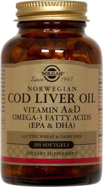 Image of Cod Liver Oil (Vitamin A & D) Norwegian