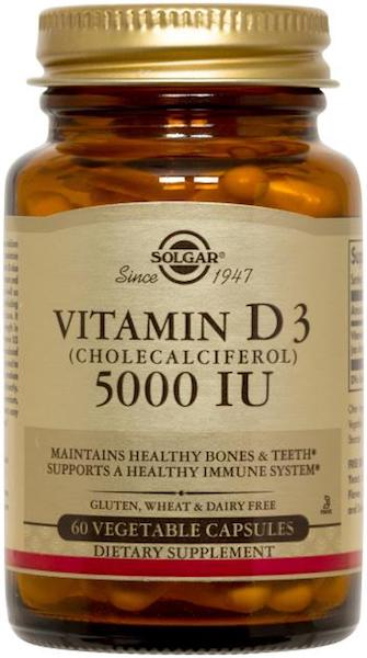 Image of Vitamin D3 5000 IU Vegetable Capaule