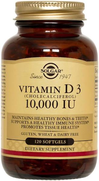 Image of Viamin D3 10,000 IU Softgel