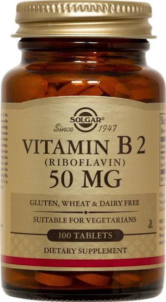 Image of Vitamin B2 50 mg (Riboflavin)
