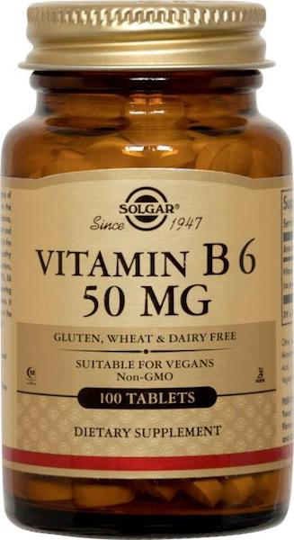 Image of Vitamin B6 50 mg