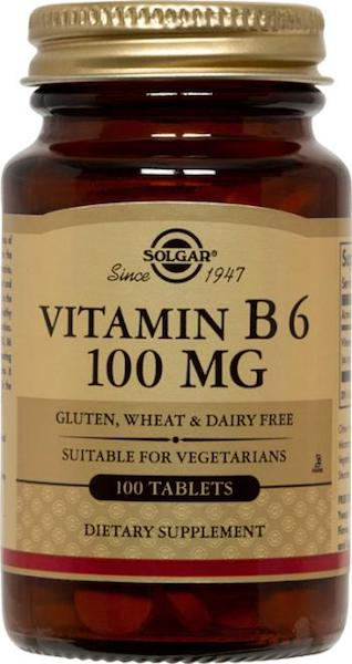 Image of Vitamin B6 100 mg Tablet