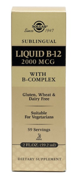 Image of Liquid B12 2000 mcg with B-Complex
