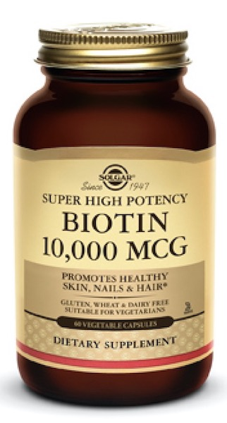 Image of Biotin 10,000 mcg (Super High Potency)