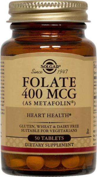 Image of Folate 400 mcg (as metafolin)