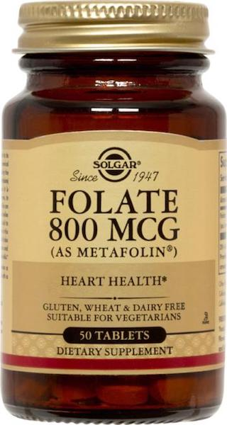 Image of Folate 800 mcg (as Metafolin)