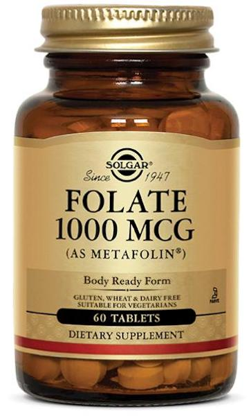 Image of Folate 1000 mcg (as Metafolin)