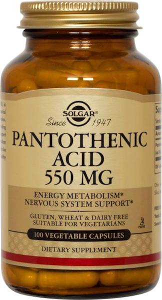 Image of Pantothenic Acid 550 mg