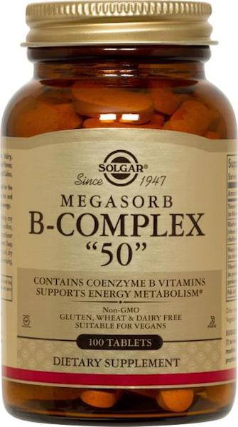 Image of Megasorb B-Complex 50 mg