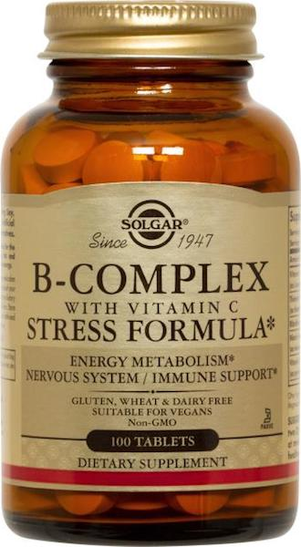 Image of B-Complex Stress Formula with Vitamin C
